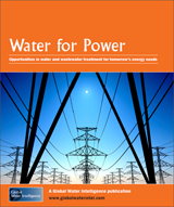 Water for Power: Opportunities in water and wastewater treatment for tomorrow's energy needs